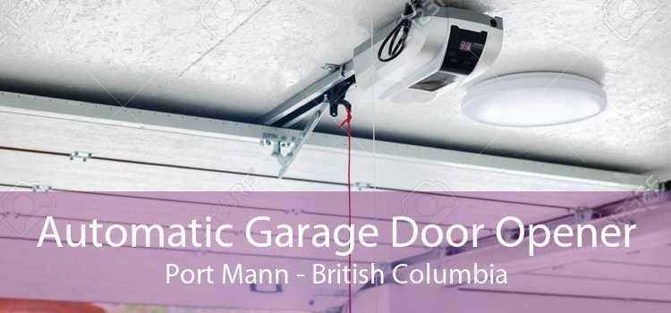 Automatic Garage Door Opener Port Mann - British Columbia