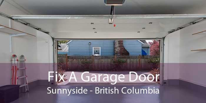 Fix A Garage Door Sunnyside - British Columbia