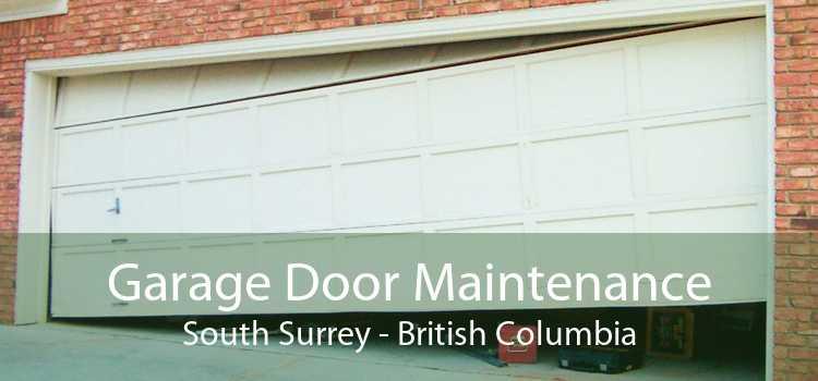 Garage Door Maintenance South Surrey - British Columbia