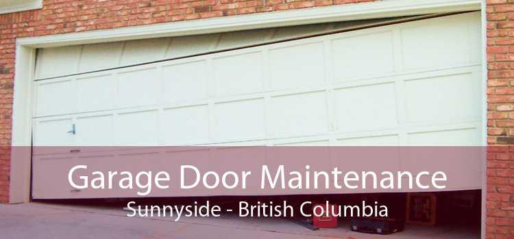 Garage Door Maintenance Sunnyside - British Columbia
