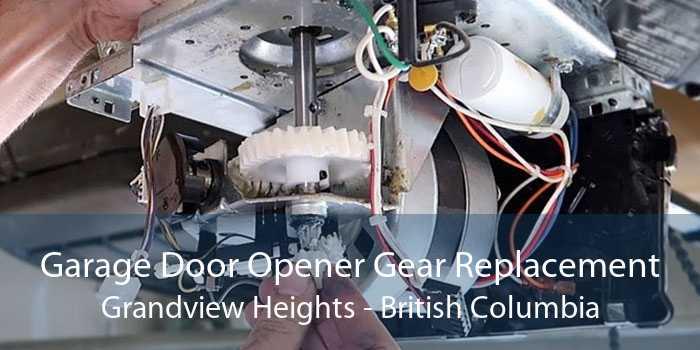 Garage Door Opener Gear Replacement Grandview Heights - British Columbia