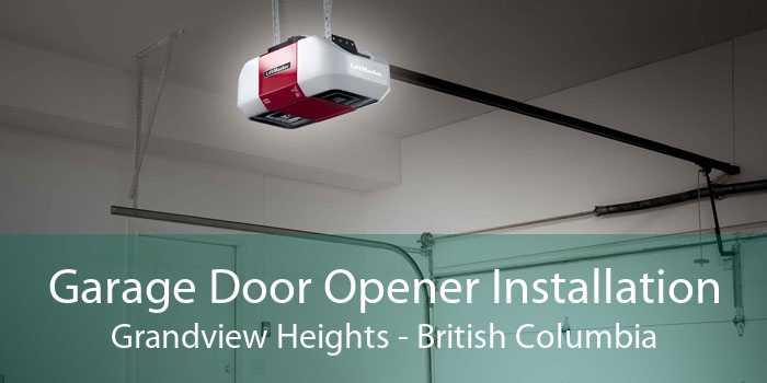 Garage Door Opener Installation Grandview Heights - British Columbia