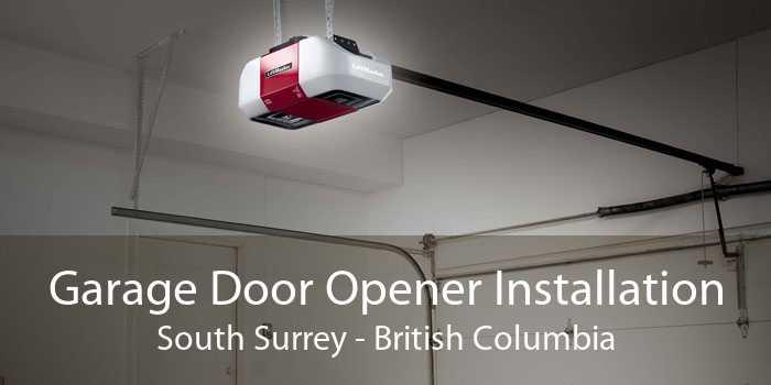 Garage Door Opener Installation South Surrey - British Columbia