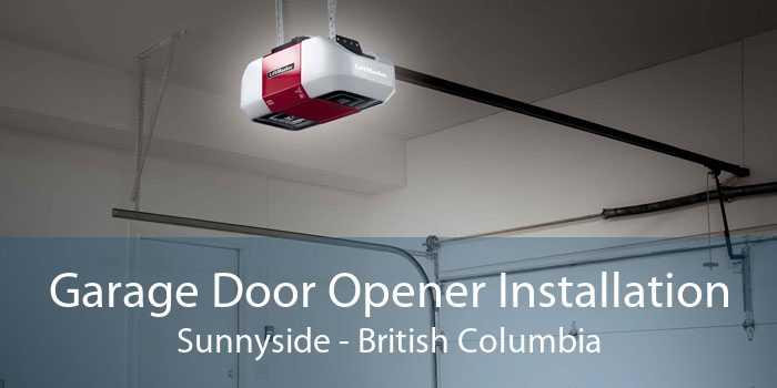 Garage Door Opener Installation Sunnyside - British Columbia