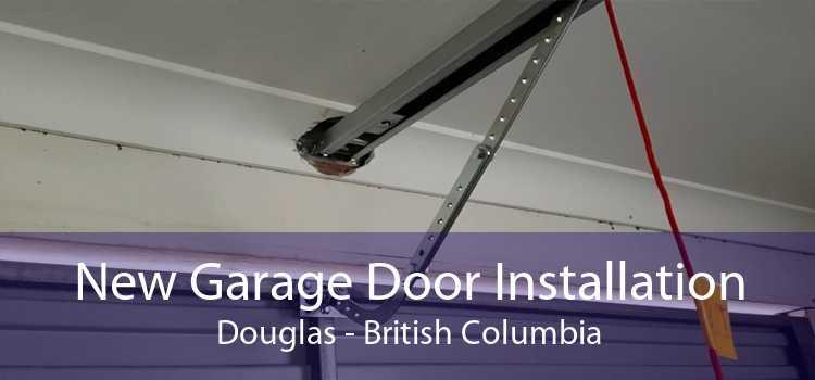 New Garage Door Installation Douglas - British Columbia