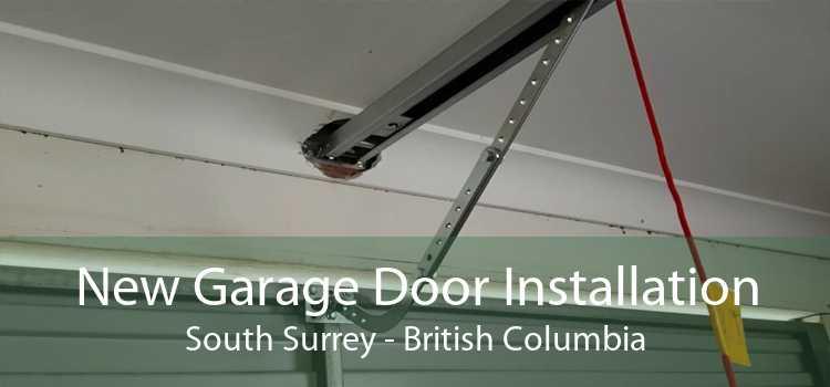 New Garage Door Installation South Surrey - British Columbia