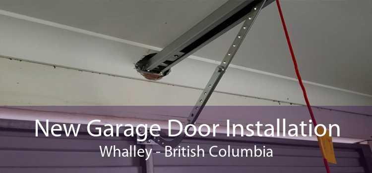 New Garage Door Installation Whalley - British Columbia
