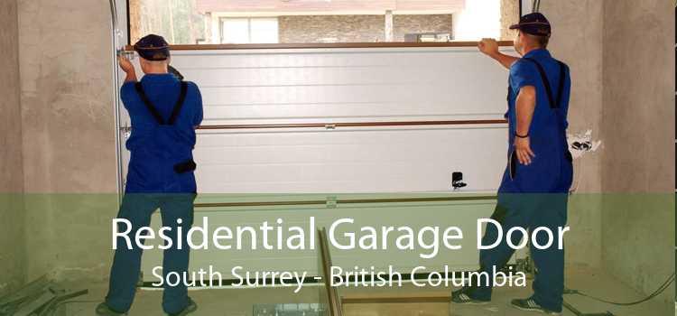 Residential Garage Door South Surrey - British Columbia