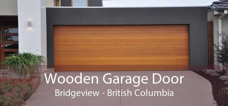 Wooden Garage Door Bridgeview - British Columbia