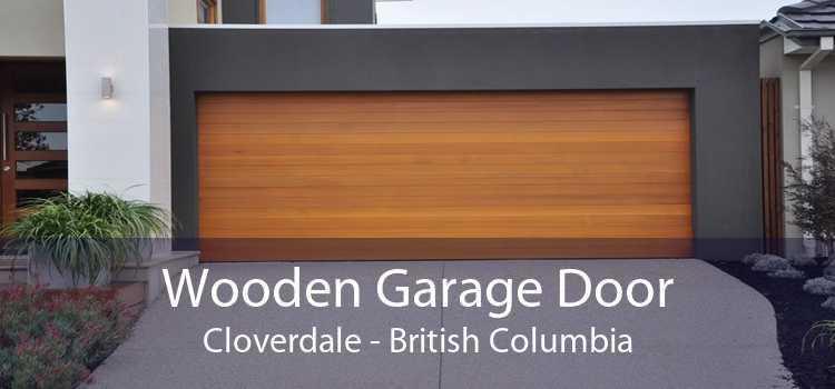 Wooden Garage Door Cloverdale - British Columbia