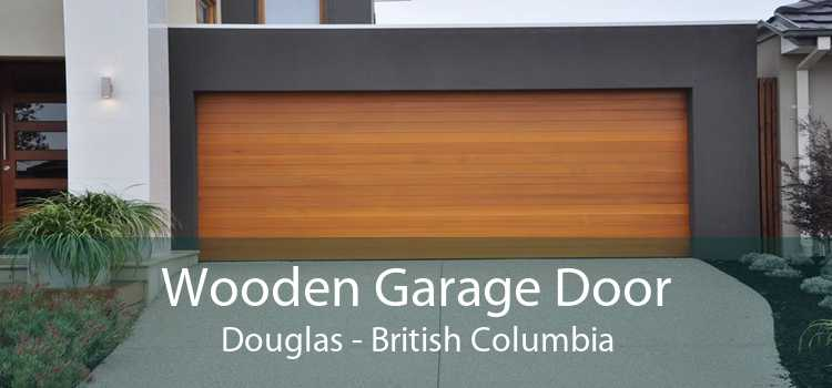 Wooden Garage Door Douglas - British Columbia