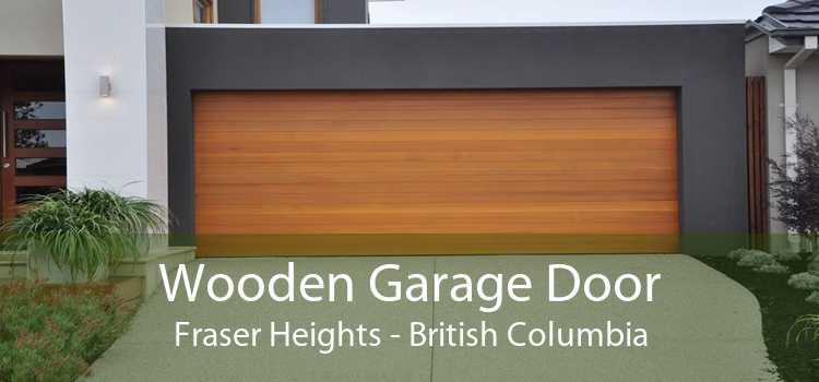 Wooden Garage Door Fraser Heights - British Columbia