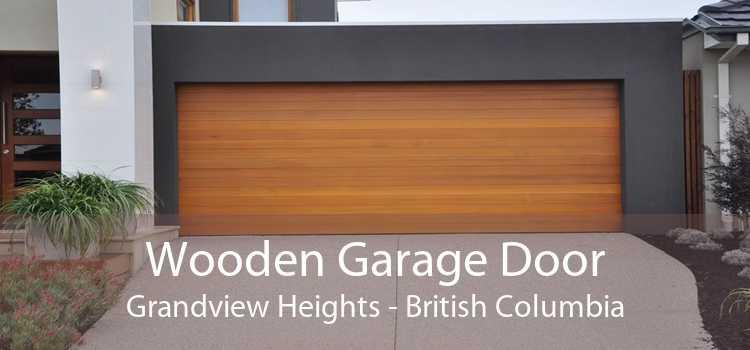 Wooden Garage Door Grandview Heights - British Columbia