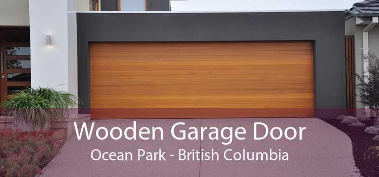 Wooden Garage Door Ocean Park - British Columbia