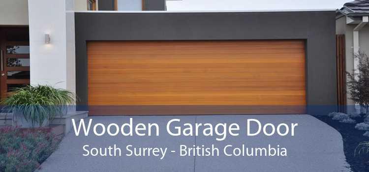 Wooden Garage Door South Surrey - British Columbia