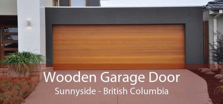 Wooden Garage Door Sunnyside - British Columbia