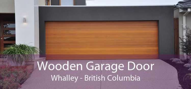 Wooden Garage Door Whalley - British Columbia